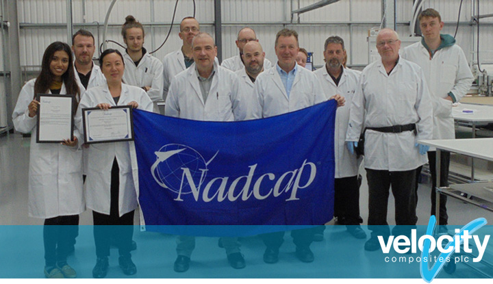 Fareham celebrate NADCAP accreditation