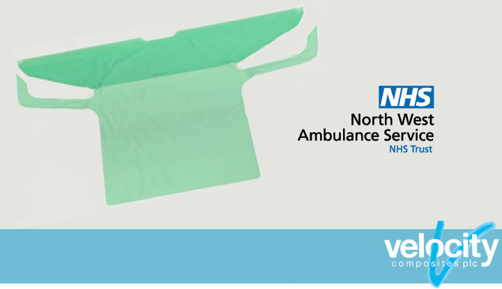 Fluid protection gowns for NHS workers
