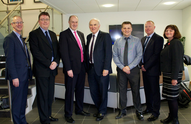 Visit from Rt Hon Dr Vince Cable MP